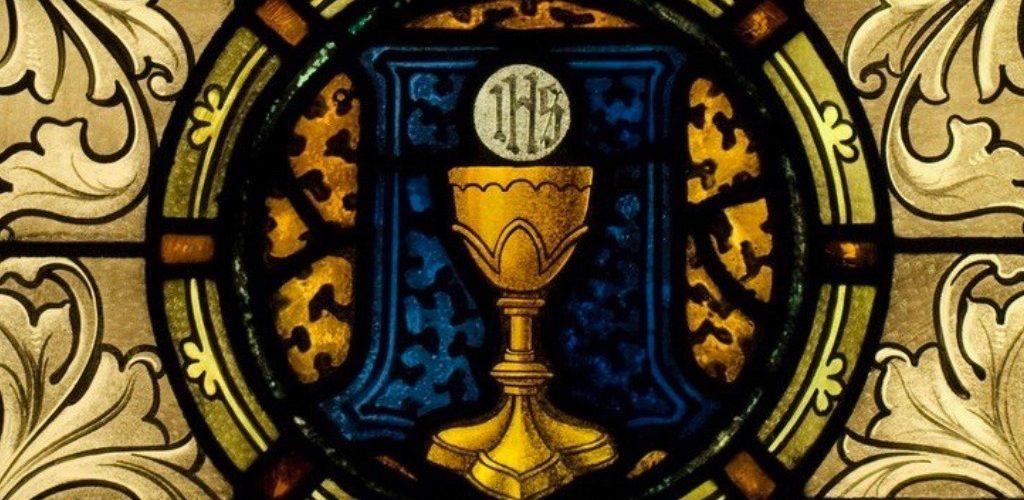 Vitraux: La eucaristía