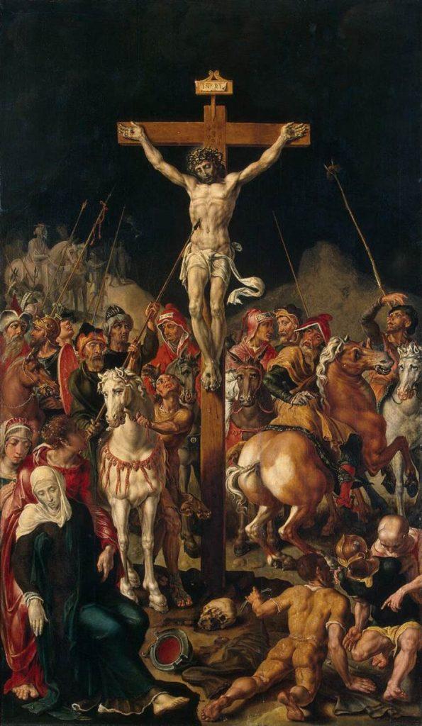 Cristo en el calvario