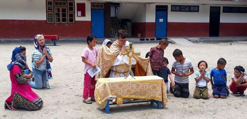 Misionero en tierras lejanas